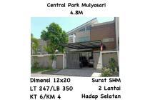 Rumah Central Park Mulyosari Surabaya dkt Merr Kenjeran Mewah