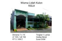 Rumah Wisma Lidah Kulon Lakarsantri Murah NEGO