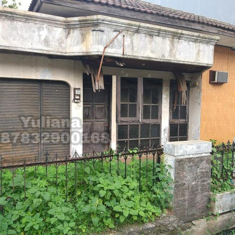Rumah Bangunan lama dihitung harga tanah di Perumahan Pondok Indraprasta, Semarang