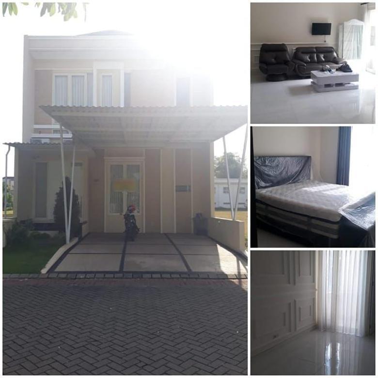 Dijual Rumah Baru Minimalis The Mansion Pakuwon Indah Surabaya
