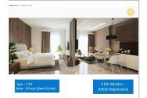 1BR Apartemen Vasanta Innopark Bekasi Dijual