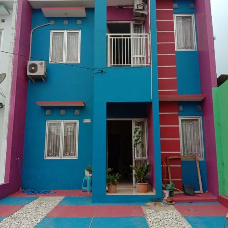 Rumah di Tapos, 2Lt, dlm Cluster di Pekapuran, Cimanggis