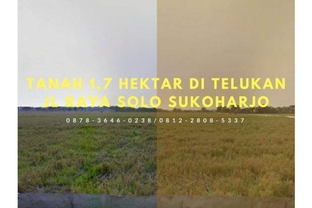 BISA DIAMBIL MIN 1 HEKTAR, 0812-2808-5337, Tanah Dijual di Telukan 1,7 Ha 14907579