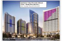 Apartemen Tokyo Riverside Chikusei Tower – Studio View CBD PIK 2