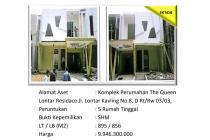 Aset Sitaan Rumah The Queen Lontar Residence Lenteng Agung Jakarta Selatan