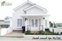 Rumah syariah unik, di Lembang Bandung 25mnt sarijadi 25mnt cihampelas