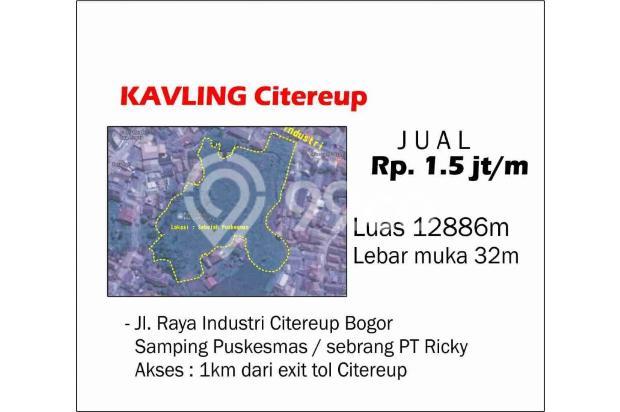 Tanah Citeurep Lokasi Ok Jalan Lebar Akses 1km Dari exit Tol Citeurep 17702129
