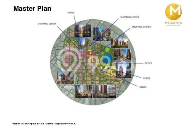 Dijual Apartemen 2BR Murah Modern Strategis di Meikarta Tower 1B Bekasi 13126395