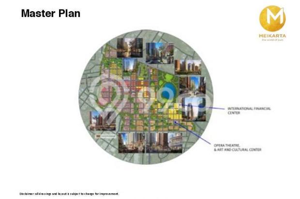 Dijual Apartemen 2BR Murah Modern Strategis di Meikarta Tower 1B Bekasi 13126398
