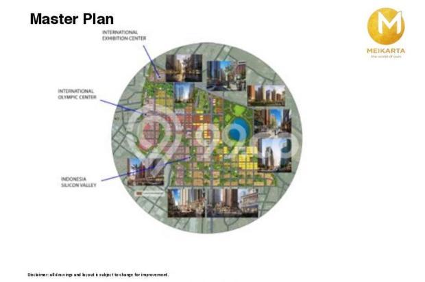 Dijual Apartemen 2BR Murah Modern Strategis di Meikarta Tower 1B Bekasi 13126405