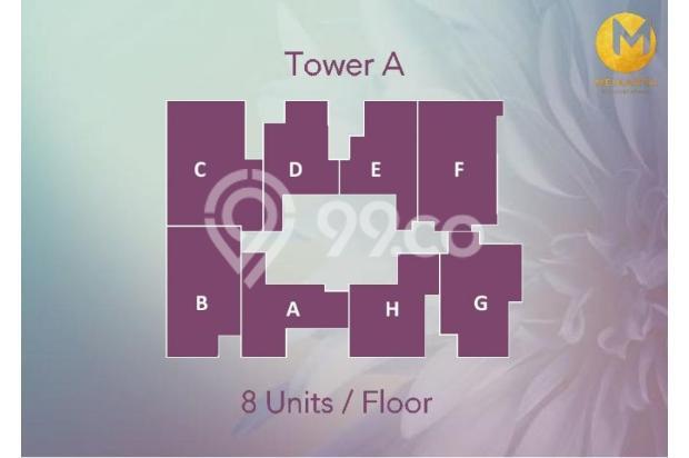 Dijual Apartemen 2BR Murah Modern Strategis di Meikarta Tower 1B Bekasi 13126417