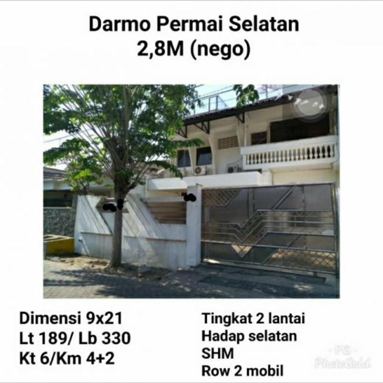 Rumah murah darmo permai selatan surabaya siap huni nego teraw