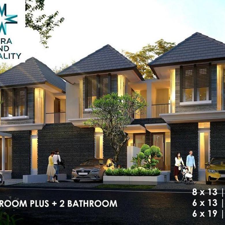 Rumah SHM 2lt Rungkut Asri Timur 100% GRESS MINIMALIS dkt MERR