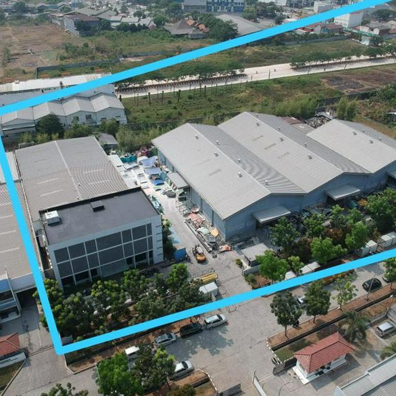 Pabrik Plus Kantor luas Di Jababeka