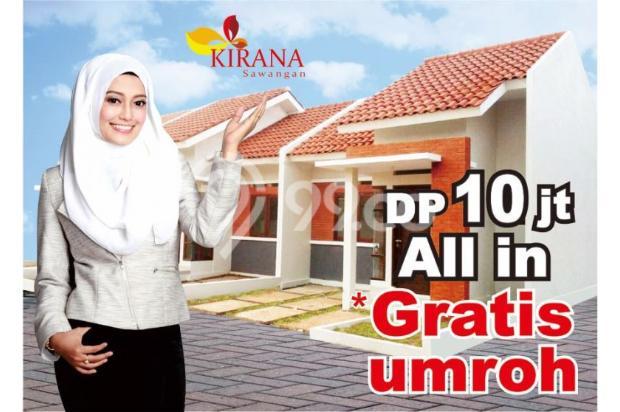 Rumah 400 Jutaan, Dapatkan Bonus Umroh* di Kirana Townhouse 15037750