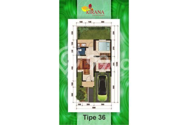 Rumah 400 Jutaan, Dapatkan Bonus Umroh* di Kirana Townhouse 15037757