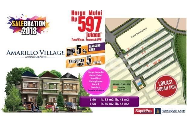 Rumah 2 lantai harga 500jutaan di Gading Serpong 15423733