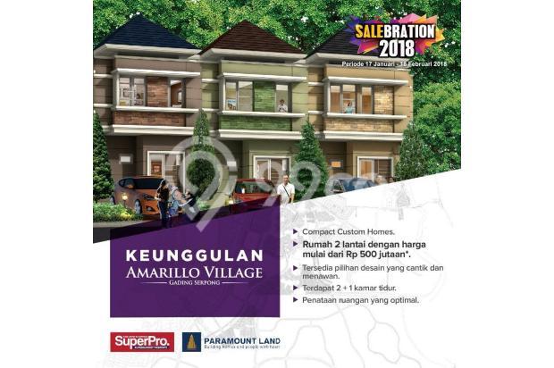 Rumah 2 lantai harga 500jutaan di Gading Serpong 15423737