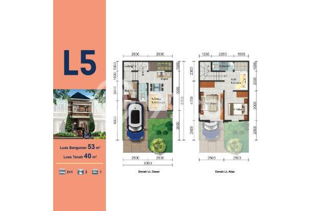 Rumah 2 lantai harga 500jutaan di Gading Serpong 15423835