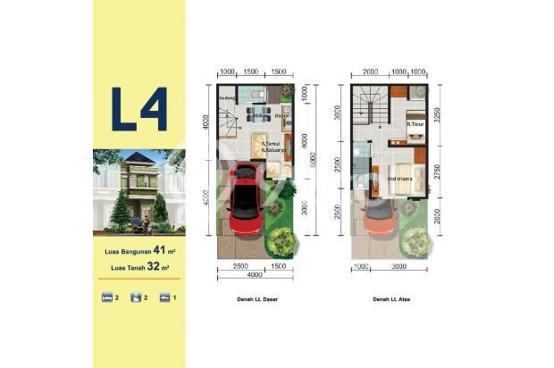 Rumah 2 lantai harga 500jutaan di Gading Serpong 15423836