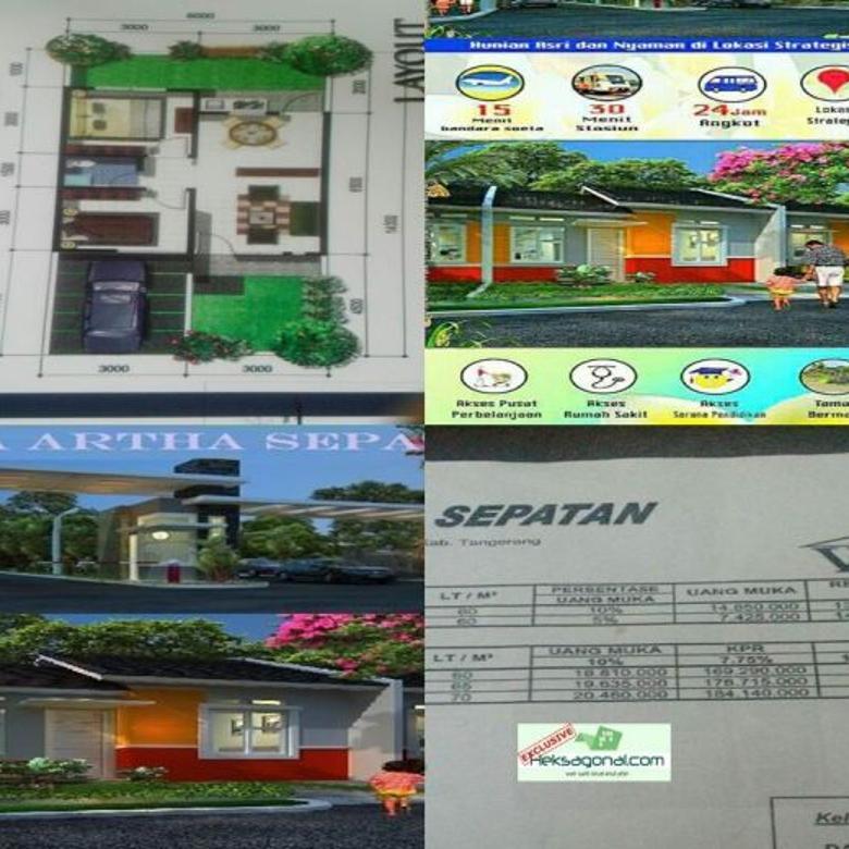 Rumah Dijual Murah di Sepatan Banten HKS3449