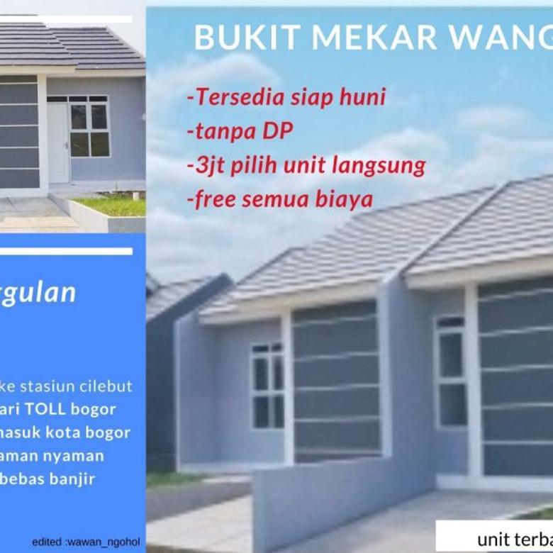 rumah murah tanpa DP di cluster alamanda kota bogor