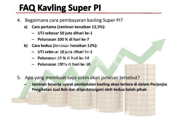 [HOT PROMO] Kavling Investasi SUPER PI @Gading Serpong!DIJAMIN UNTUNG 12,5% 21875620
