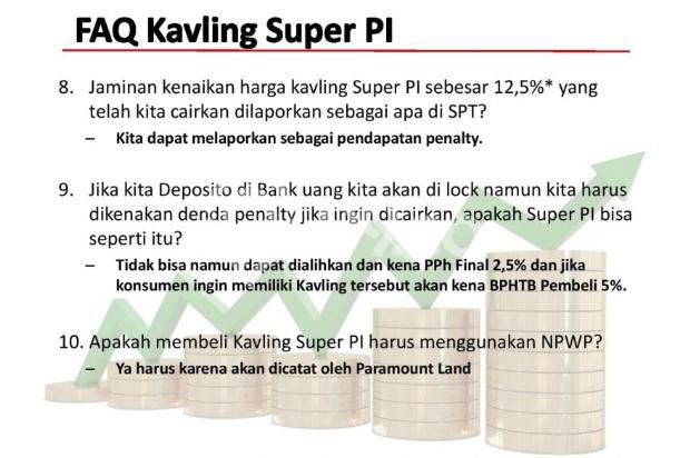 [HOT PROMO] Kavling Investasi SUPER PI @Gading Serpong!DIJAMIN UNTUNG 12,5% 21875624