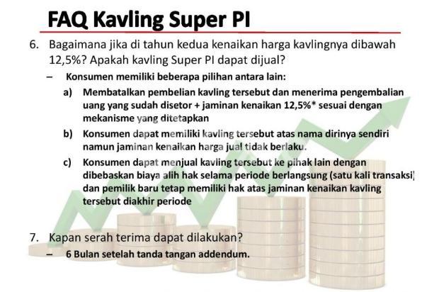 [HOT PROMO] Kavling Investasi SUPER PI @Gading Serpong!DIJAMIN UNTUNG 12,5% 21875626
