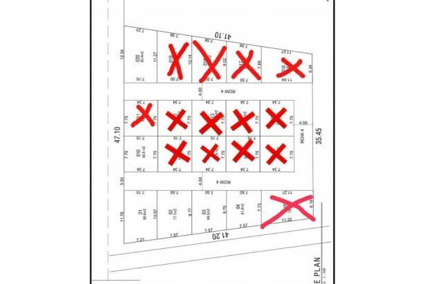 Rp7,25jt Tanah Dijual