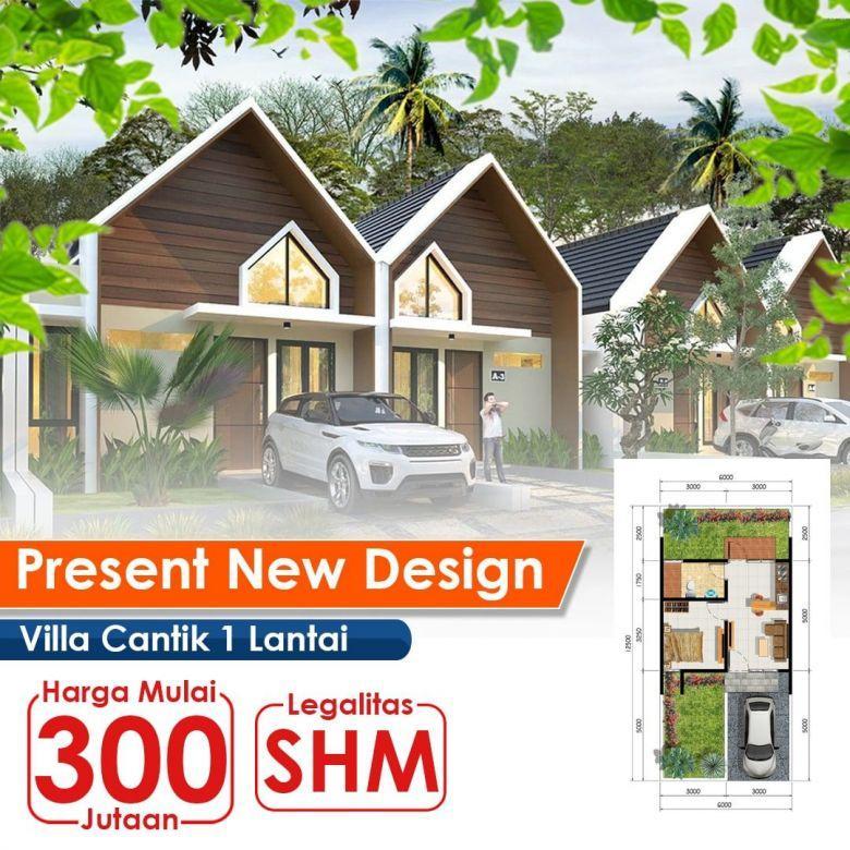 Jual Villa Murah 300jutaan Lokasi Cipanas View Kebun Teh 1000H
