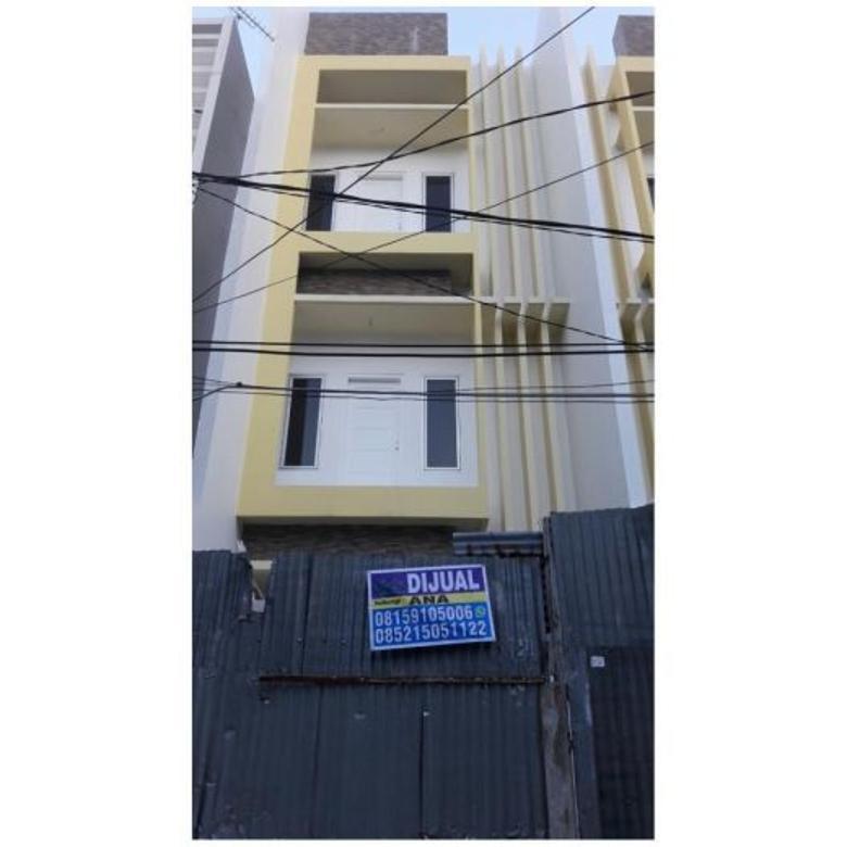 Jual Rumah Baru 3.5 lantai di Jelambar Jakarta