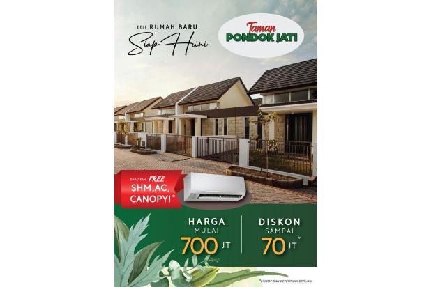 Rp704jt Rumah Dijual