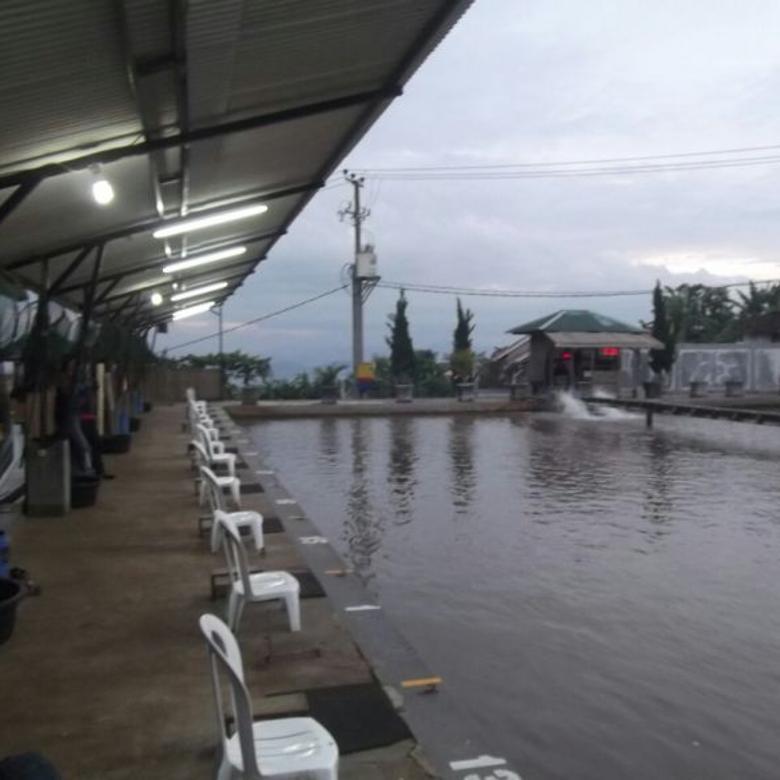 Dijual Cepat tanah beserta usaha Kolam Pemancingan Galatama CIMAHI