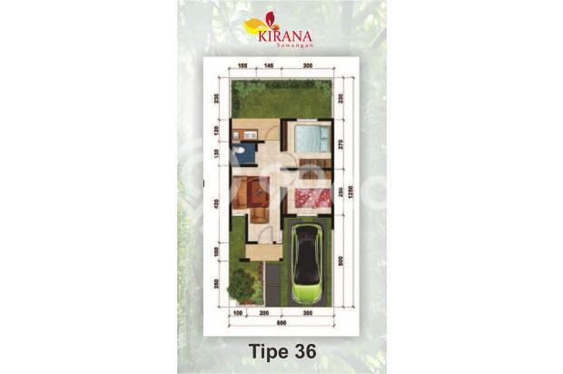 Cluster Kirana Town House Sawangan DP 0 % KPR Rendah, Booking Sekarang 17307287