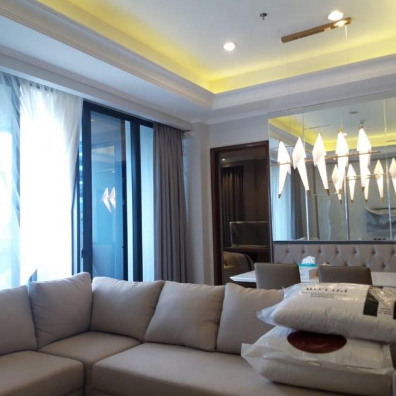 Disewa Apartemen District 8 @SCBD 2 BR (153 sqm) Fully Furnish