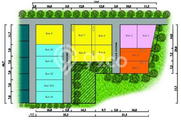 Tepi Jalan Arteri Kabupaten Peruntukan Residensal: BELI KAVELING BANTUL 13426556