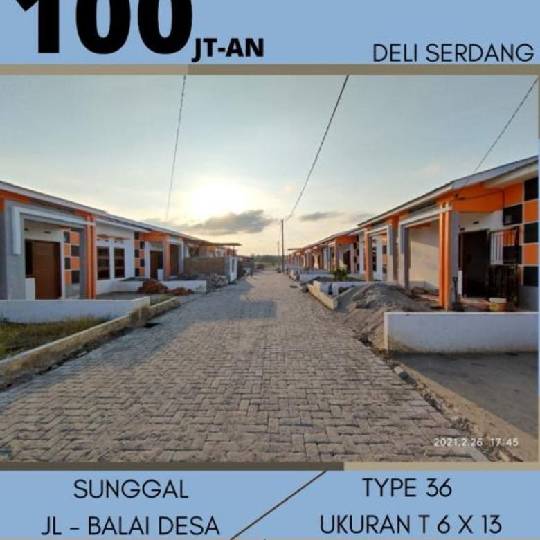 RUMAH JOKOWI DI  SUNGGAL,  CALL 0812-6002-8207 perumahan subs