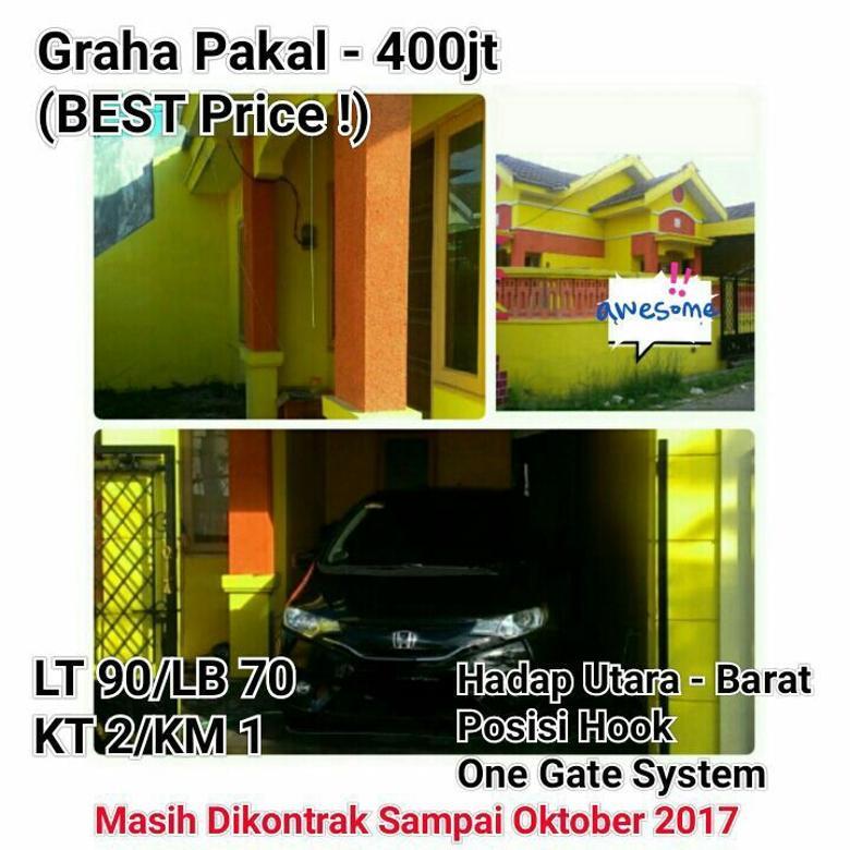 Rumah Graha Pakal Benowo Surabaya Siap Huni