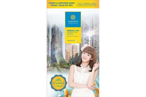 Dijual Apartemen Strategis di Vasanta Innopark Cibitung Bekasi 17341324