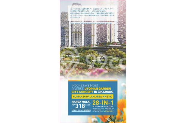 Dijual Apartemen Strategis di Vasanta Innopark Cibitung Bekasi 17341330