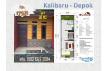 Investasi Rumah Kontrakan, Murah Banget di Kalibaru,Depok