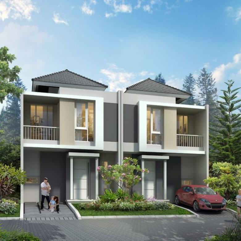Rumah smarthome 2 Lt Synthesis Homes dekat MRT Lebak Bulus