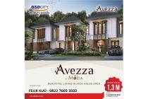 Cluster Avezza Rumah Mewah 8x15 cara bayar TERMURAH di BSD City AEON Mall