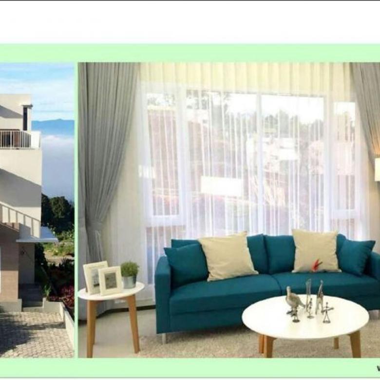 Diuaal rumah dii Cisarua dengan View panorama Kota Bandung | P