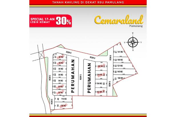Rp367jt Tanah Dijual