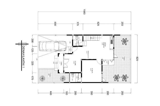 Dijiual Rumah Siap Huni LT 130 m2 di Dongkelan Dekat Pasar Pasty 17794774
