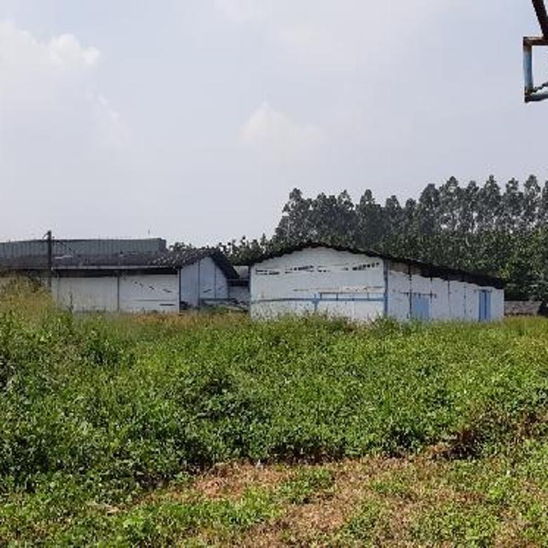 Tanah Ex Pabrik Strategis di Kawasan Industri Jatake Tangerang