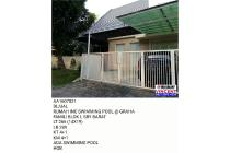 RUMAH INC SWIMMING POOL GRAHA FAMILI BLOK L SBY BARAT