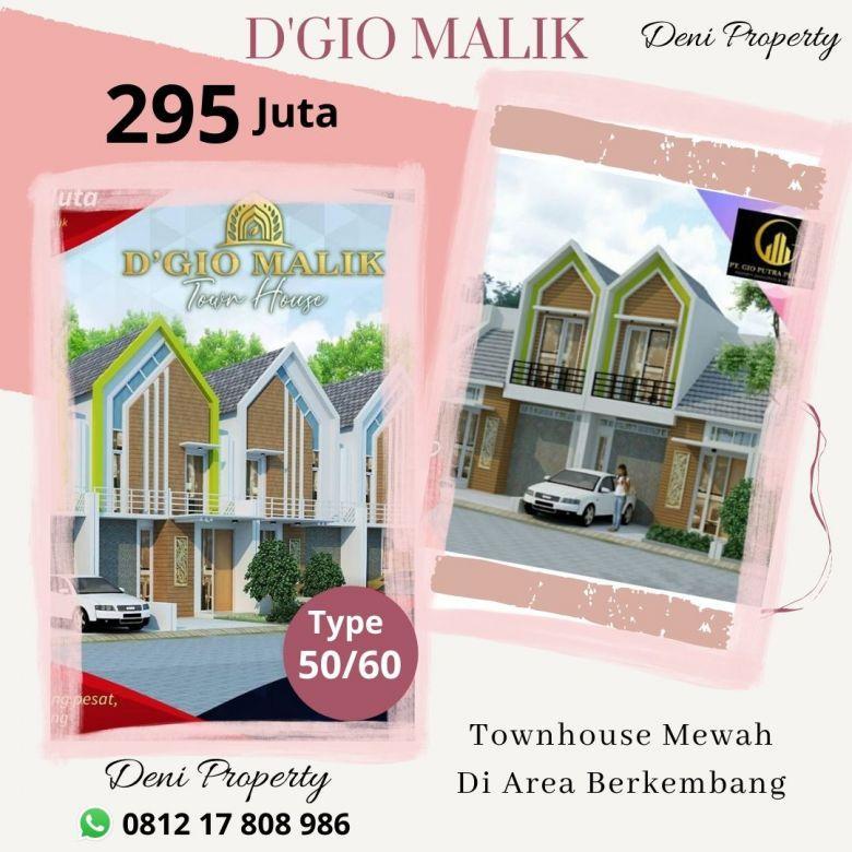 Townhouse Murah 5 Menit Dari Exit Tol Malang D'Gio Malik